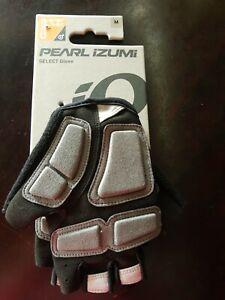 Nwt Pearl Izumi Select Cycling Gloves size XL black/screaming green
