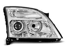 Paire de feux phares Opel Vectra C 02-05 angel eyes chrome