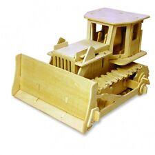 ROBOTIME - Bulldozer radio commandé en bois 179 pces à assembler   KIT EN BOIS