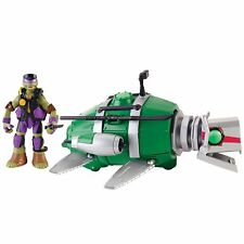 Ninja Turtles Donnie Turtle Sub Submarine - Tortugas Ninja Donatello Submarino