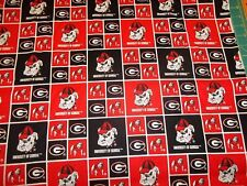 Georgia Bull Dogs:SQ 100% cotton, Welding, Biker, Pipe-fitter,4 panel hat