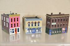 WALTHERS N SCALE AMERICAN 2 & 3 STORY CITY MASSAGE DRUG SODA STORE BUILDING
