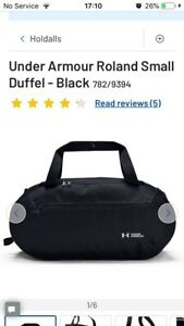 Under Armour Black Holdall / Sports Bag
