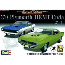Revell 70 Plymouth HEMI Cuda 2n1 Plastic Model Kit