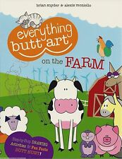 EVERYTHING BUTT ART ON THE FARM Activity BOOK How To Draw DRAWING ACTIVITIES Fun