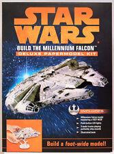 Star Wars Build The Millennium Falcon Deluxe Paper Model Kit