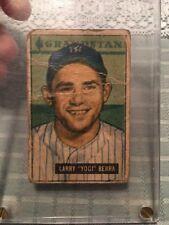 1951 Bowman Yogi Berra #2 New York Yankees Baseball Trading Card