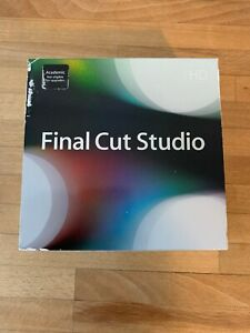 Final Cut Studio DVD-rom disk bundle (including FCP 7)