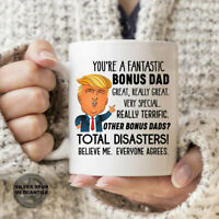 Trump Bonus Dad Mug Gift For Father's Day Donald Trump Gift For Husband For Step