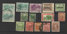 Pérou Peru un lot de timbres anciens /T2346