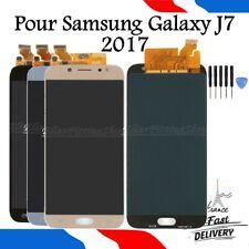 Écran LCD Pour Samsung Galaxy J7 2017 SM-J730F Tactile BLEU DORE NOIR Display