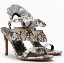NEXT 100% Leather Strappy, Ankle Straps Slim Heels for Women