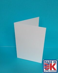 100 A5 BRILLIANT WHITE ORDER OF SERVICE CARD BLANKS 250GSM