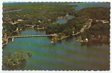 Aerial View Bobcaygeon Trent Canal Ontario Chrome VG