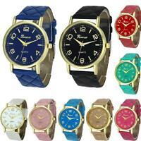 Leather Analog Quartz Watch Fashion Women Classical Casual Wrist Watch