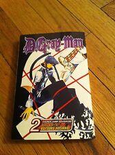 D. GRAY MAN 2  Manga Graphic Novel Trade Paperback Shonen JUmp Advanced Comic GN
