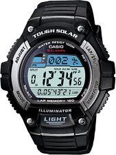 CASIO MEN'S WS220-1A TOUGH SOLAR DIGITAL WATCH