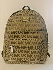 NEW! Michael Kors Jet Set Item Large Backpack-Beige/Mocha