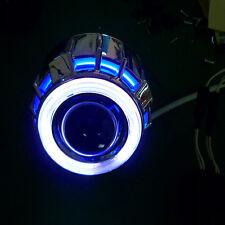 "NEW M803 2.5"" Car Motorcycle Headlights LED BI-XENON Projector Robot Eye"