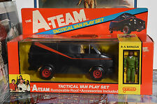 1983 GALOOB A-TEAM TACTICAL VAN PLAY SET, SEALED IN BOX!