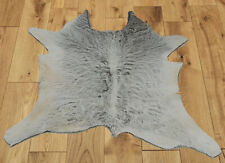 """New Calfhide Rugs Area Cow Skin Leather Cowhide ULG 45821 (28""""X28"""")"""