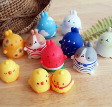 """Molang Mini Figure Series Ver.1 (1) Random Pack 2"""" Collectible Toy Cute Anime"""