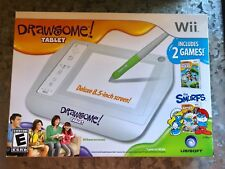 BRAND NEW! Drawsome Sketch Quest -Nintendo Wii - SEALED! - Features The Smurfs!