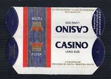 Old EMPTY cigarette packet complimentary gift pack Casino size 2. #461