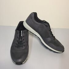 ECCO Danish Design Women's UK 6 Grey Leather Walking Shoes Immaculate Used.