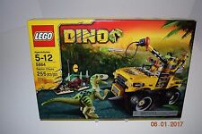Lego 5884 - DINO Raptor Chase - 5+/5882,5883,5885,5886- Sealed -- Retired -- NEW