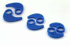 Brand New Replacement Silicone Ear Fins For JayBird X2 3 pairs S/M/L (Ice)