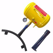 NEW FEATURE 10 Gallon Air Bead Seater Tire Tool Blaster Wheel Tool Yellow 145Psi