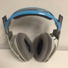 ASTRO Gaming - A40 -Gray/Blue -HEADSET ONLY - XBOX1/PS4/PS3/PC/Mac