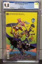 Batman Fortnite Zero Point #1 CGC 9.8 Kenneth Rocafort Variant Cover 2021