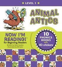 Now I'm Reading! Level 1: Animal Antics (NIR! Leveled Readers) by Gaydos, Nora