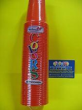 Bicchieri 200 cc. Arancio conf. pz 50 party feste compleanni eventi