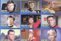 STAR TREK TOS HEROES & VILLAINS PARALLEL CARD SET 1 to 100 Complete 50th