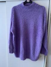 F&F Lilac/Lavender Fluffy Sweater/Jumper S22
