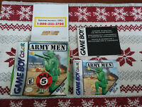 Army Men - Authentic - Nintendo Game Boy Color - GBC - Box / Manual Only!