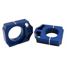 Works Connection Blue Axle Blocks Honda CR125R CRF250R CRF450R CR250R 17-011