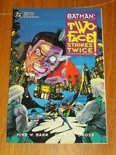 Batman: Two-Face Strikes Twice Book 1, Vol. 2 DC Comics (Paperback, 1993)
