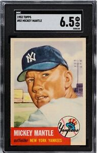1953 Topps Mickey Mantle #82 SGC 6.5