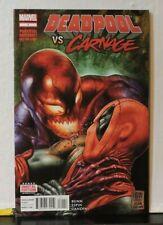 Deadpool vs Carnage #1-4 full set June 2014