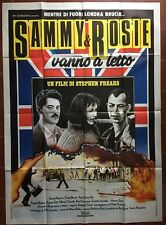 Affiche Italienne SAMMY ET ROSIE S'ENVOIE EN L'AIR Get Laid SHASHI KAPOOR *