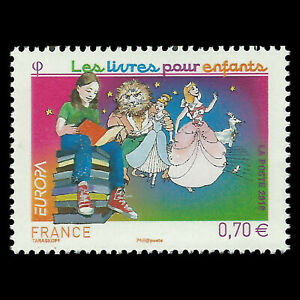 France 2010 - EUROPA Stamps - Children's Books - Sc 3816 MNH
