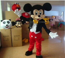 New Adult Sz Mickey Mouse Mascot Costume Fancy Party Dress Halloween