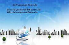 Ad Swap And Solo Ad -Quickly Build Your List - Videos on 1 CD