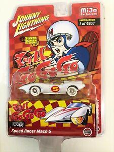 CHASE Johnny Lightning Speed Racer Mach 5 Japan Nostalgia Version JLCP7349 1/64