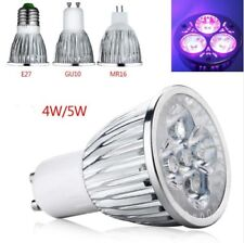 4W 5W E27/GU10/MR16 LED Purple light Spotlight Lamp Light Mini Bulb AC85-265V