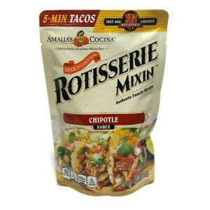 Amalia's Cocina Rotisserie Mixin Chipotle Sauce 5-Min Tacos (7 oz bag) NEW